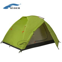 2 Person 4 season Camping Dome Aluminum Frame Tent