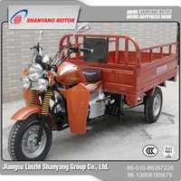 Can strong load capacity cargo three(3 ) wheel motorcycle for sale/used motorcycle wheels LZSY150ZH-B