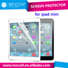 Top Japan PET material ultra clear transparent PET protective film screen protector for iPad mini screen protector