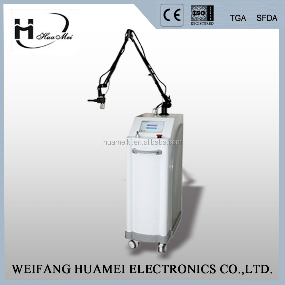 Factory price ce/iso co2 fractional laser skin care vaginal laser tightening machine, 30w rf tube laser with
