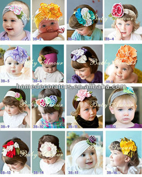 Baby Headband Flower Hair Bands Children Hairband baby headband