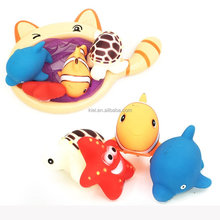 Interesting Colorful Bath Toys Carton Water Bathtub To bath animal toy for Baby, Toddlers, Kids