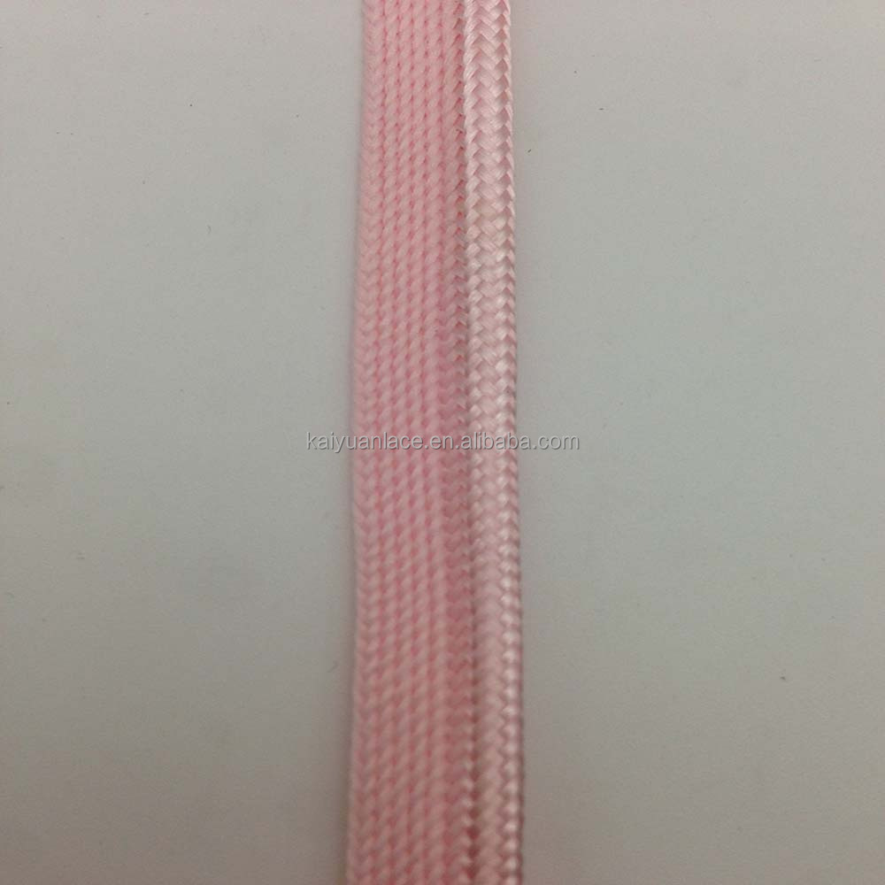 pillow cushion upholstery pink polyester polypropylene braided piping ribbon cord