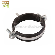 Direct Supply Customized Coated Two Hole Rubber Pipe Clip Clamps