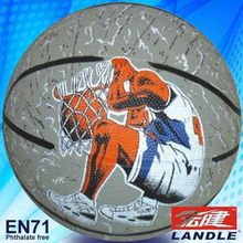 Photo customized hot sale wholesale rubber made 8 inches American basketball