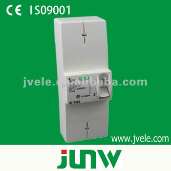 Wenzhou factory 2P and 4P type adjustable earth leakage circuit breaker