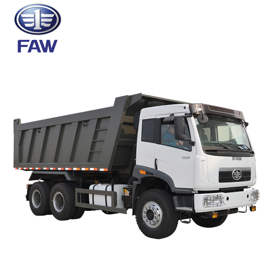 FAW NEW J5P 6 wheel medium duty dump mining truck capacity for sale manufacturers