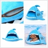 factory price shark shape dog bed pet house/cat cave/tent