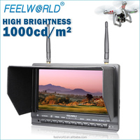 "low price helicopter toy 7"" monitor built in 5.8ghz 32ch wireless av receiver"