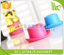 Promotional gift plastic canteen,water bottle,with cute lid,hot sale