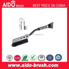 heavy-duty Snow Brush With Ice Scraper for car/soft bristle snow brush