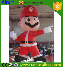 Custom advertising and commercial inflatable super Mary /inflatable Mary Christmas/ Christmas cartoon
