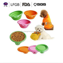 Target audited supplier Collapsible Compact Pet Bowl Dog Cat Travel bowl