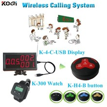 Electronic Pager With Buzzer Bell Equipments Restaurant Coasters Sound System