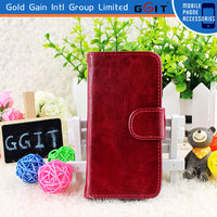 Flip Wallet Stand Leather Phone Case For iPhone 4