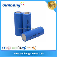 3.7v 1200mah rechargeable battery 18500 li-ion polymer battery for metal detector/led flashlight/digital photo frame