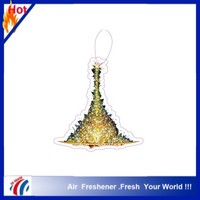 hot selling xmas paper car air freshener with new design