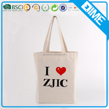wholesale standard size canvas shopper tote bag with gusset