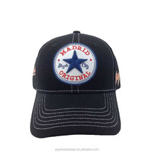 Wholesale metal buckle back closure sports caps custom baseball caps men women