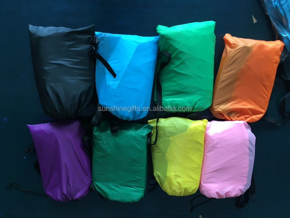 Inflatable Lounge Sleeping Bags 3 Season Outdoor Caping Inflatable Bag