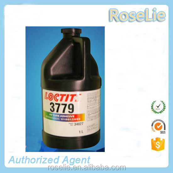 loctite 3779 one component uv glue / loctite 3779 uv adhesive for bonding LCD terminal pin / loctit 3779 light cure adhesive 1L