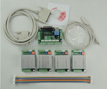 Cnc Router 4 Axis Kittb6600 4 Axis Mach3 Stepper Motor Driver Controller Kit 4 5
