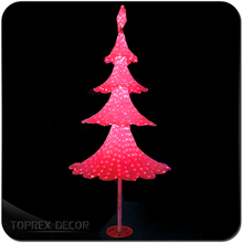 Acrylic Artificial Christmas Small Decorative Pine Trees