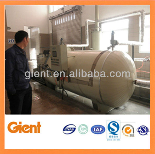 horizontal autoclave for medical waste treatment