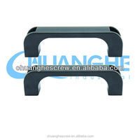 u shaped abs furniture handles