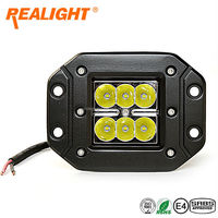 Realight LED Work Light 6pcs led chip super bright off-road vehicle light