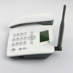Good looking transparent button cdma desk phone