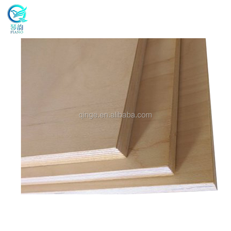 Cheap Decorative and Furnitures Used Thin Plywood Sheet 10mm