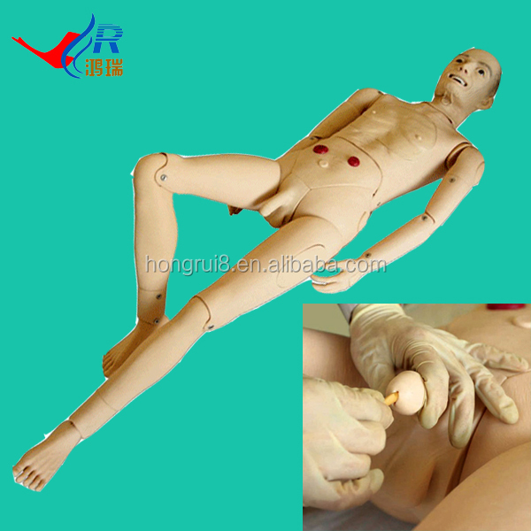 ISO Multifunctional Nursing Care Model, Elderly Male Nursing Manikin