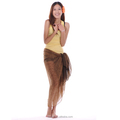 100%polyester silk screen printed sarong pareo