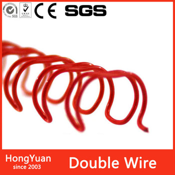 New product office stationery double loop wire binding loop wire for book, notebook