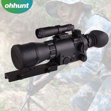 Hunter Night Vision Series MK 350C Infrared Night Vision Monoculars Optic Rifle Scope for Hunting