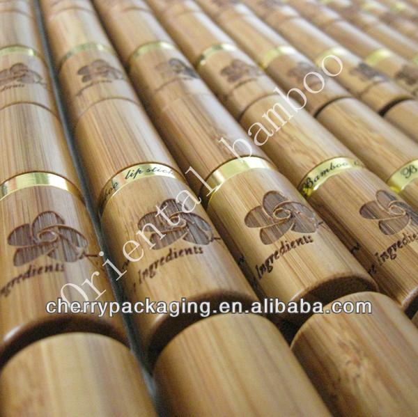 Caldo vendita naturale di bamb cosmetici tubi packaging for Vendita bambu