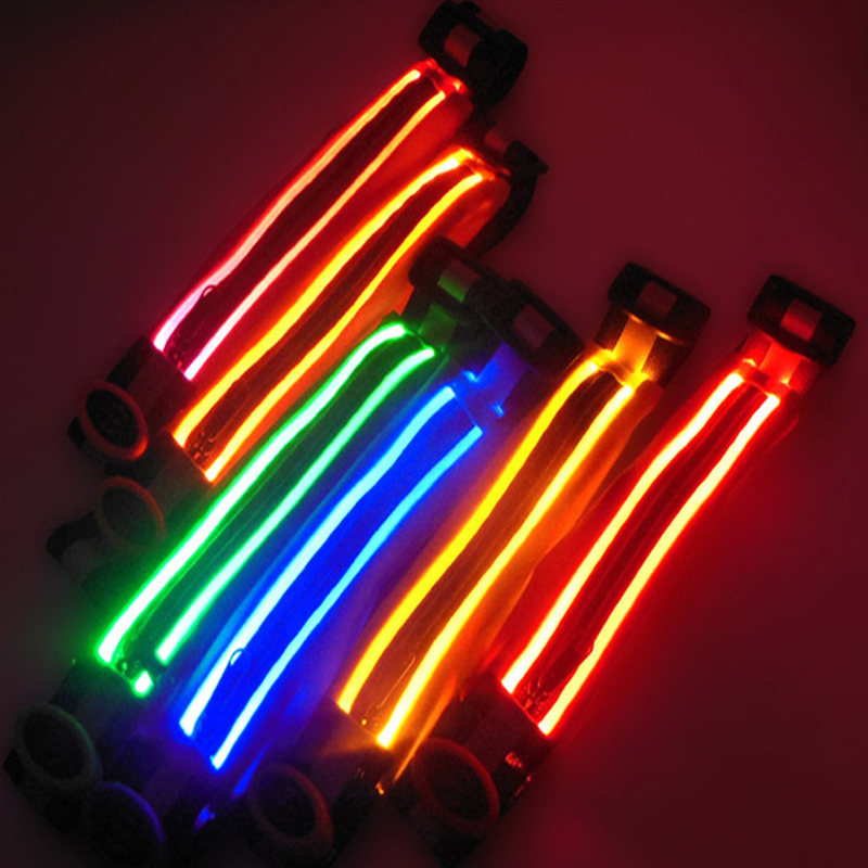 High quality led light belt running sporting led waist bag with buckle