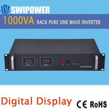 "Best Quality 19"" Rack Mount Telecom Sine wave Inverters 1000VA from china"