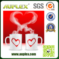 Customized 11 oz sublimation coating liquid coffee mugs for christmas (M001-1)