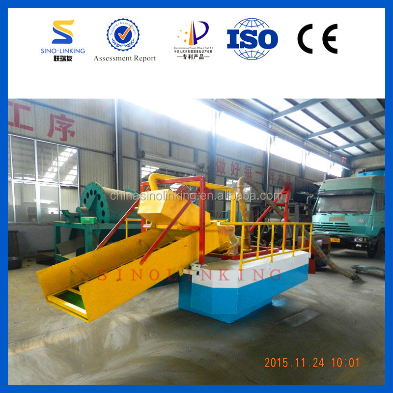 SINOLINKING Offer Video Gold Suction Dredge with Gold Mat for Recovering gold