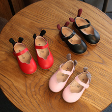 BF1117 2017 fashion girls dress shoes long shoes for girls kids party shoes wholesale