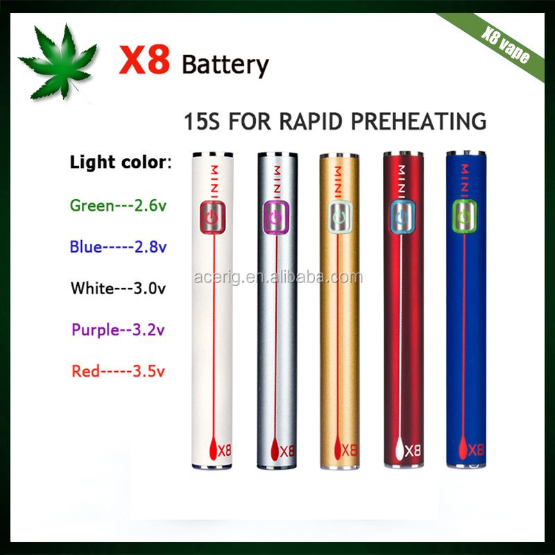 Acerig electronic cigarette CBD vaporizer x8 vape kit low price big vapor smoking