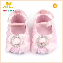 Hot Rose Design Ankle Strap Toddler Dress Shoes Girls
