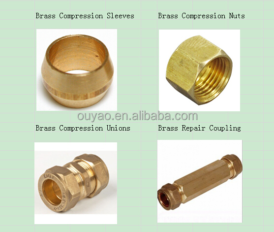 Plastic to copper compression fitting buy plastic to for Copper to plastic fittings
