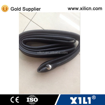 natural rubber and butyl bicycle inner tube