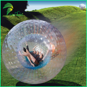 Fashionable Sports Inflatable Zorb Ball , High Quality Funny Inflatable Rolling Ball For Games