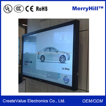 1080P Full HD Touch Screen Kiosk 42/ 46/ 55/ 65/ 70 inch LCD Advertising Display Monitor