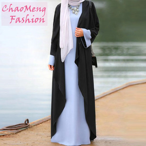 823# New design kaftan fashion design dubai maxi muslim abaya dress for muslimah women