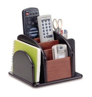 High class house hold wooden desktop cell phone holder